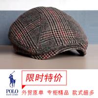 Fashion design vintage male women's autumn and winter cap beret forward cap