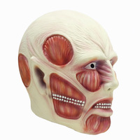 Attack on Titan Cosplay Mask Shingeki no Kyojin Ferocious Giant Mask Advancing Titans