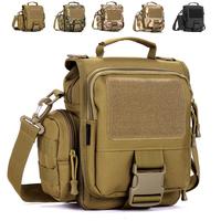 Molle casual man bag tactical travel bag handbag outside sport single shoulder bag messenger bag ride