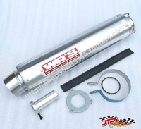 Motorcycle WRS modified exhaust pipe For Honda CB400 CBR29 VTEC hornet 250 motorbike parts