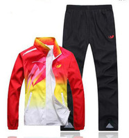 2013 Hot Men track suit sportswear suit men and women sports suit lovers Sportswear 5207