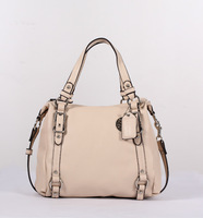 Free shipping 2013 New Arrival Fashion Popular  Handbag Bag Purse Beige Color  Shoulder High Quality Silk inside Purse 308