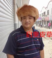 2014 new hot sale Hat for Men fur mink skin fox hat full leather