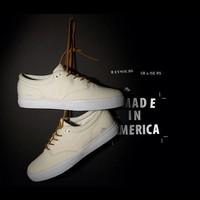 freeshipping Emerica reynolds cruisers 3e male skateboard casual shoes white 41.5 men's sneakers