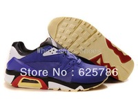 Free Shipping 91 Triax Max Men's Running Sport Footwear Sneaker Trainers Shoes - Royal Blue / White / Black / Red