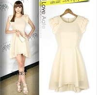New Sexy Sleeveless Pleated Evening Cocktail Party Womens Ladies Chiffon Dress
