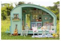 Diy model house handmade model romantic gift girls toy dollhouse