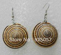 Natural Australian abalone shell conch earring Fashion jewelry