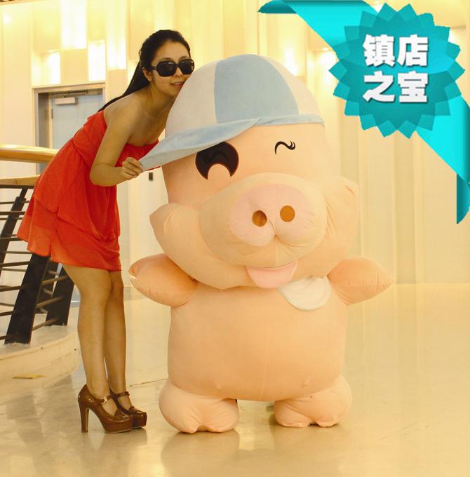 Menina Frete grátis presente de aniversário da boneca de pano boneca de brinquedo de pelúcia um par de amantes Grandes(China (Mainland))