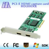 Support high resolution best 2ch HDMI capture card