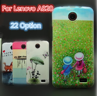 22 Option For Lenovo A820 Silicon Case,Colored Drawing,Free Shipping