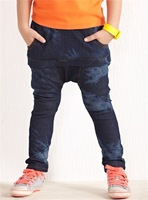 Moonbasa - children's clothing the trend of personality denim harem pants 052613304