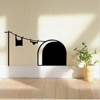 Fashion wall stickers - - eco-friendly fashion mouse qt360