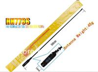 FM radio antenna dual band antenna RH-773 SMA-Female for TK3107 TK2207 TK3207 UV-5R Dual Band+10pcs/lot Free Shippping