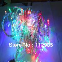10M 100 LED color Lights Decorative Christmas Party Festival Twinkle String Lights Bulb 220V EU Free shipping