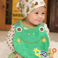 free shipping 3194 spring and autumn baby bibs cartoon style bib 10 variety