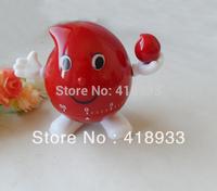1PCS New Cute Droplets shape mini timer kitchen helper family must E595 Free shipping