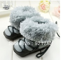 Freeshipping Thickening baby boots baby boots Tall afford baby warm boots baby shoes 1622