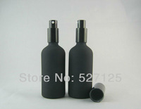 20pieces/lot ,100ml black lotion bottle with pump,Cosmetic Packaging,cosmetic bottles,packing for liquid cream