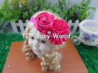 2013 fashion baby headband,flower head band for baby, baby hair accessories,kids hair band, children hair accessories,24pcs/lot