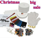 2014 Free Shipping hot sale largest starter kiln kit  (10pcs set) microwave kilns for making glass earrings vners