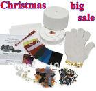 2015 Free Shipping hot sale largest starter kiln kit  (10pcs set) microwave kilns for making glass earrings vners