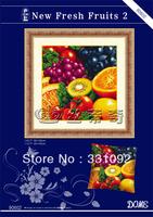 New Fresh Fruits 11CT precise printed DIY hand make cross-stitch embroidery needlework kits
