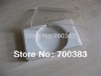 (5pcs)Transparent gift box, USB packaging, Rectangular USB box, Crystal box, Size:89*55*24MM
