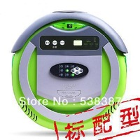 4In 1 Multifunction Robot Vacuum Cleaner (Sweep,Vacuum,RF control,Sterilize)LCD Touch Screen,Schedule,5 working mode,Self Charge