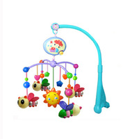New Cute Lovely Electric Baby music toys, Baby Rattle Bed Bell Baby Toys Wholesale and retail