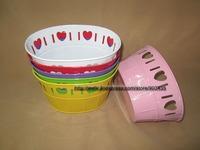 Metal Bucket Pail Pot Garden Home Decor,Wedding,birthday,holiday