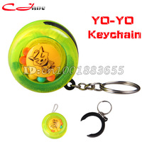 Free Shipping wholesale fashion cartoon cute YO-YO / key chain / bag Hang chain. Children's Toys and Gifts YOYO