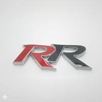 Free shipping (5pieces/lot)  metal Car logo /emblem /badge,top quality RR car Sticker for Honda /car styling