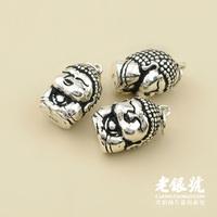 Thai silver 925 15mm manichaeist buddha pendant hangings pure silver accessories diy accessories