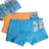 8 100% child cotton panties male child panties 100% cotton flat feet trunk shorts 4 - 12