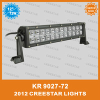 72W High power car offroad LED work light bar FOR car KR9027-72