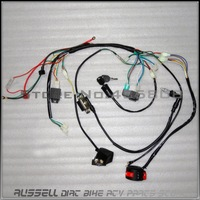 COMPLETE ELECTRICS, ATV QUAD 50cc 70cc 110cc 125cc ,coil,cdi harness WIRING HARNESS