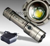 2000 Lumen Zoomable LED CREE XM-L T6 18650 Flashlight Torch Zoom Lamp Light