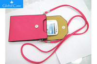 For SAMSUNG GALAXY NOTE 3 2 N7100 N9002 Colorful Fashion girl PU leather phone and Camera bag Double layer design