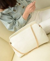 2013 women's handbag summer women's handbag embossed women's chain handbag fashion vintage check one shoulder handbag