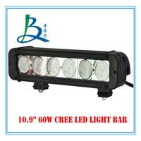 high power 10.9'' 60w single row light bars