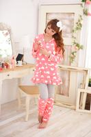 Herfair lounge set love Pajamas sleepwear