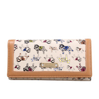 Betty boop BETTY trend candy color fashion long wallet a4156-1
