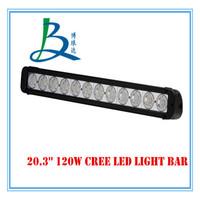Good waterproof Single Row Double Row 120W Light Bars Offroad/Truck/Tractor/Vehicle Auto Led Light Bars