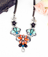N00502 2013 New Arrival Free Shipping fashion brand Vintage Unique chunky choker Necklace statement jewelry for women