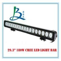 Waterproof IP67 180W off road led light bar for 4X4, ATVs, SUV, UTV