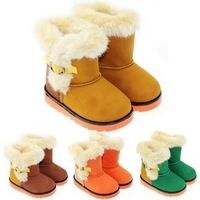 2013 fashion children's winter boots for girls and boys winter kid shoes