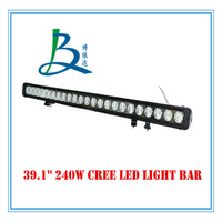 39.1 inch 9-70V cree 240w led light bar,offroad LED work light with spot/flood/combo beam