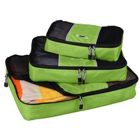 New 2013 Packing Cube-3pc Set Women and Men Travel Bags Nylon Travel Organizer Bags luggage travel bags