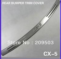 Rear Bumper protector trunk bumper trim cover protector 2012 2013 MAZDA CX-5 CX5